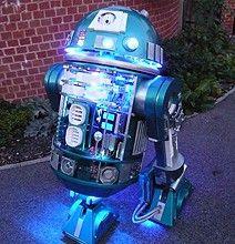 R2-D2 Version 2.0 Has No Shortage Of LED Lights