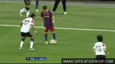 Messi on the move