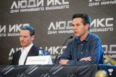 Michael Fassbender at the Moscow X-Men DOFP Press Conference