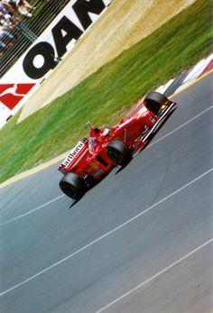 Eddie Irvine,  Ferrari F310B, 1997 Australian GP, Melbourne