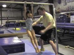 We've put together 17 Videos to help you practice gymnastics at home. There are videos for beginners, and drills for training higher level gymnasts at home. If you're looking for gymnastics online, this is a great resource. Kips Gymnastics, Gymnastics At Home, Gymnastics Levels, Gymnastics Routines, Gymnastics Tricks, Gymnastics Skills, Gymnastics Coaching, Amazing Gymnastics, Gymnastics Training