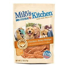 Milos Kitchen Chicken Jerky Dog Treats 27 oz *** Read more  at the image link.
