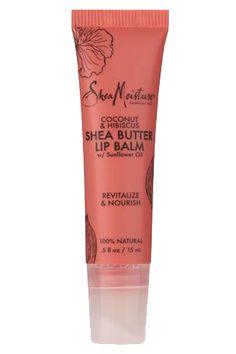 Coconut & Hibiscus Shea Butter Lip Balm -