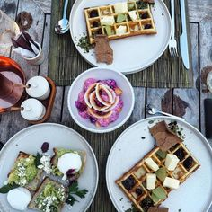 Happy taste buds this morning courtesy of the chefs at @copperubud located at @bismaeight in Ubud Bali. Impossible to say no to waffles  - this resort really has it all  #ubud #bali #indonesia #bismaeight #hotel #hotellife #balilife #balidaily #exploreindonesia #explorer #holidaytime #destination #relax #travelingram #travel #mustseelocations #thebalibible by mustseelocations