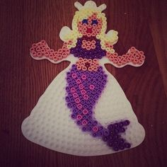 Mermaid hama beads by asablumenberg