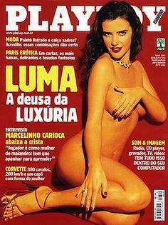 PLAYBOY BRASIL  Luma de Oliveira | Maio, 2001