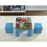 Found it at Wayfair - Cosco Kids 3 Piece Square Table and Chair Set