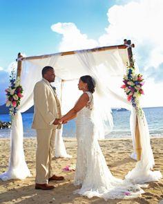 Private Beach Wedding St Lucia Www Awesomecaribbeanweddings