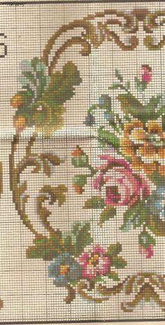 Cross Stitching, Cross Stitch Embroidery, Hand Embroidery, Cross Stitch Rose, Cross Stitch Flowers, Tapestry Crochet Patterns, Knitting Patterns, Cross Stitch Designs, Cross Stitch Patterns