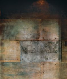 weathered steel would be a great interior or exterior material to use.