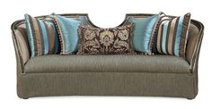 Carleton Sofa, Compositions, Schnadig.    Modern and eye-catching. With a unique inverted curve detail.    www.mkhomedesign.com
