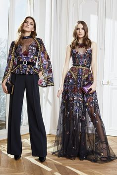 The complete Zuhair Murad Fall 2020 Ready-to-Wear fashion show now on Vogue Runway. Zuhair Murad, Fashion 2020, Runway Fashion, Paris Fashion, Korea Fashion, Fall Fashion, Abed Mahfouz, Georges Chakra, Vogue Spain