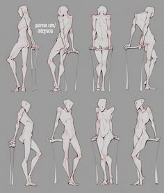 Drawing draw reference practice human body anatomy tutorial androgynous poses torso arms back woman standing leaning poses Human Body Drawing, Drawing Body Poses, Human Figure Drawing, Female Drawing Base, Drawing Muscles, Arm Drawing, Body Reference Poses, Body Reference Drawing, Human Reference