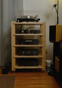 34 desirable stereo racks and audio stands images audio stand rh pinterest com