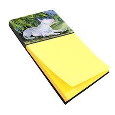 Bull Terrier Refiillable Sticky Note Holder or Postit Note Dispenser SS8266SN