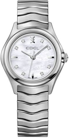 Ebel Watch Wave Lady Quartz #battery-3-year-battery-guarantee #bezel-fixed…