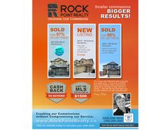 Edmonton SW sales!  Lots moving.  Save money with Rock Point!
