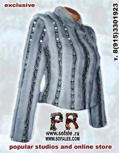 Эксклюзивная куртка из норки фото