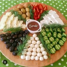 Food presentations – About Holiday Parties Party Food Platters, Cheese Platters, Food Design, Appetizers For Party, Appetizer Recipes, Breakfast Platter, Turkish Breakfast, Cooking Recipes, Healthy Recipes