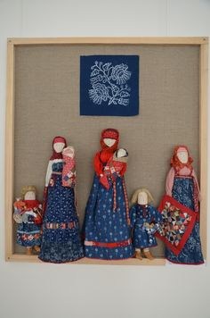 вербные пуховочки: Куклы с выставки.