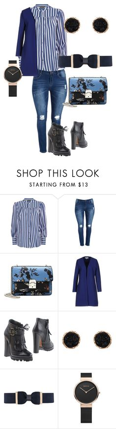 """Ms Blue"" by macgurl on Polyvore featuring MANGO, Christies à Porter, Aldo Castagna, Humble Chic and City Chic"