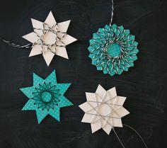 DIY string art stars