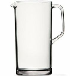 Clarus Tritan Classic Pitcher - 64 Oz by US Acrylic. $19.41. BPA-Free. Unbreakable. Dishwasher Safe (top rack, regular or normal cycles only, no heated dry cycle). This is clarus tritan classic pitcher. Developed by US Acrylic and made exclusively from Eastman Tritan, a new generation, BPA-free copolyester, this collection of luxurious beverageware is virtually unbreakable, with unparalleled dishwasher durability and is made entirely in the USA. Capacity 64 ounce.