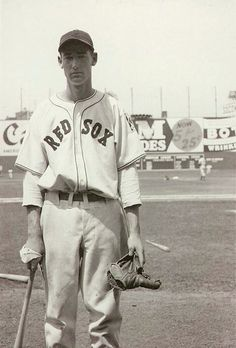 Ted Williams, Boston Red Sox, 1939 - his rookie season. Few men ever had a swagger of this kid. Did I mention he was a combat fighter pilot in 2 wars (and Chuck Yeagars wingman in the second of those wars)