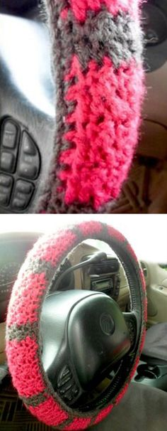 Steering Wheel Crochet Cover
