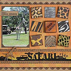 Ideas for Scrapbook page Layouts
