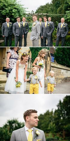 A Yellow and Grey Rustic wedding in the North oYrkshire countryside | Rock My Wedding