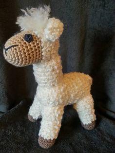 Crochet Amigurumi Llama : Alpaca - amigurumi Amigurumi / DIY Toys Crochet ...