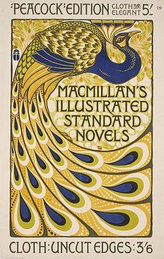 Shop Peacock Art Nouveau Poster Print - Vintage created by VintageCabaret. Motifs Art Nouveau, Design Art Nouveau, Art Nouveau Poster, Art Deco Illustration, Graphic Illustration, Retro Poster, Poster Vintage, Belle Epoque, Vintage Design