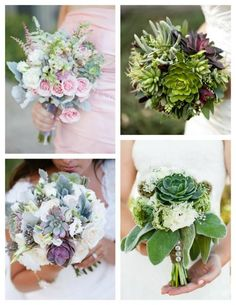 """The importance of Texas grown succulents, berries and foliage are as important to many bride's & groom's as the flowers are selected. Couples are asking for some of the most specific textured botanicals by name. These include dusty miller, seeded eucalyptus, waxflower, baby's breath, and other specific varieties of Texas grown succulents."" --Texas State Florist Association (TSFA)"