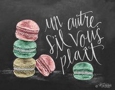 French Macaron - Print
