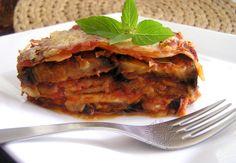 Baklažánove Lasagne.  RECEPT: http://www.mnamkyrecepty.sk/recipe/baklazanove-lasagne/