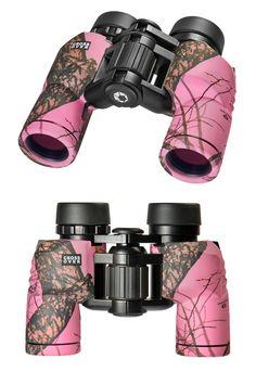 Barska 8x30 Crossover Binoculars in Mossy Oak Break-Up Pink