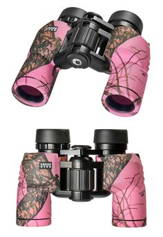 Barska 8x30 Crossover Binoculars in Mossy Oak Break-Up Pink