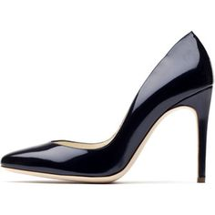Designer Clothes, Shoes & Bags for Women Stiletto Heels, High Heels, Shoes Heels, Navy Blue Shoes, Patent Leather Pumps, Leather Shoes, Corporate Style, Ruby Slippers, Evening Shoes