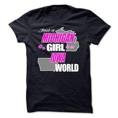 Michigan-Iowa-Girls T-Shirts, Hoodies, Sweaters