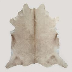 One of my favorite discoveries at WorldMarket.com: Light Natural Cowhide Rug