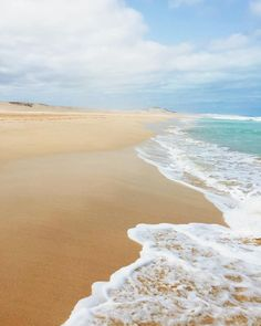 The beach of Boa Vista, calm and quiet - Cape Verde #Kaapverdie