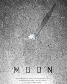Day 236: Moon. I've done this film before, but it's such a fave that I wanted to do it again with a bit more love. Created with the help of a Cinema4D astronaut model by Raoul Marks. Available as a print at craftandgraft.co  #amovieposteraday