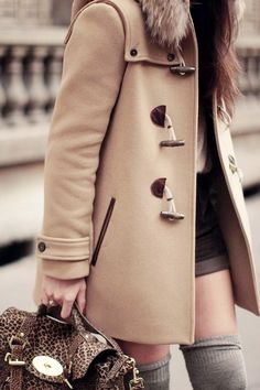 Coat and Knee Highs