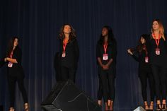 Presentazione delle finaliste Emozioneeeeeeee !!! #missuniverseitaly2014