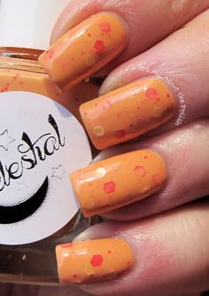 Butternut Kisses swatched by @itsallaboutpolish
