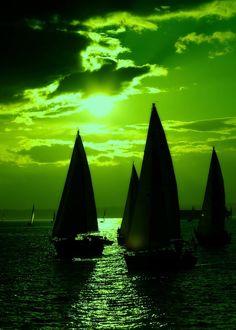 green.quenalbertini: Green seascape | The Perfect World