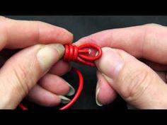 Sliding Knot Tutorial - Left/Right Handed - YouTube