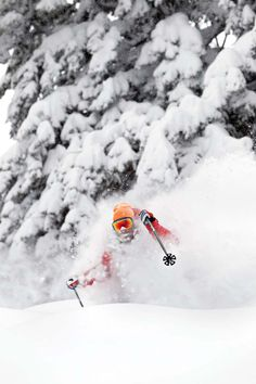 @Deer Valley Resort Utah, Avg snowfall: 300 in