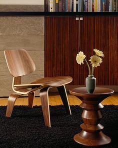 Herman Miller Eames® Walnut Stool - Low Stools - Seating - Herman Miller - GR Shop Canada